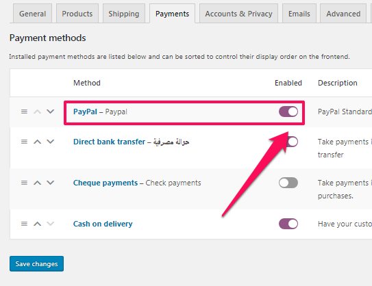 gateway disabled: paypal does not support your store currency.