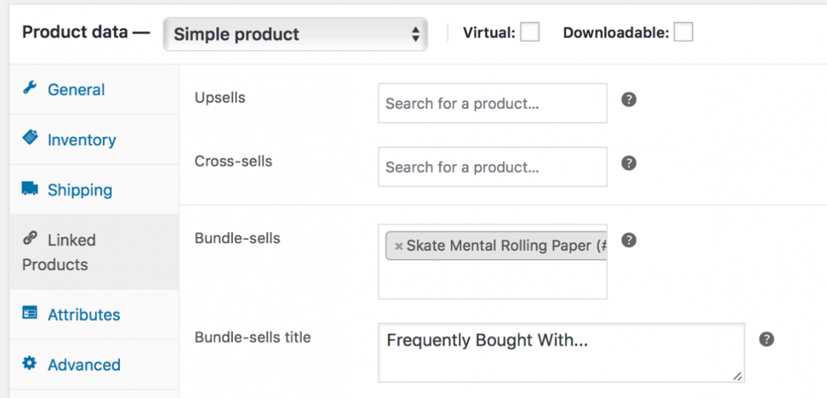 create product bundles in woocommerce