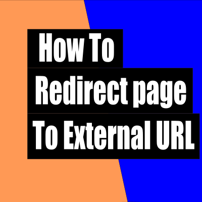 How to redirect page to external url in wordpress